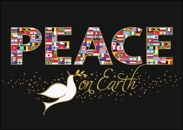 Peace photo christmas cards merry christmas and happy new year 2018 our m4hsunfo Images