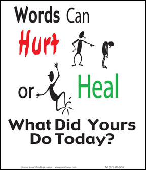 Words are powerful positively good productions